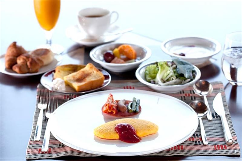 Okinawa Spa Resort EXES 朝食