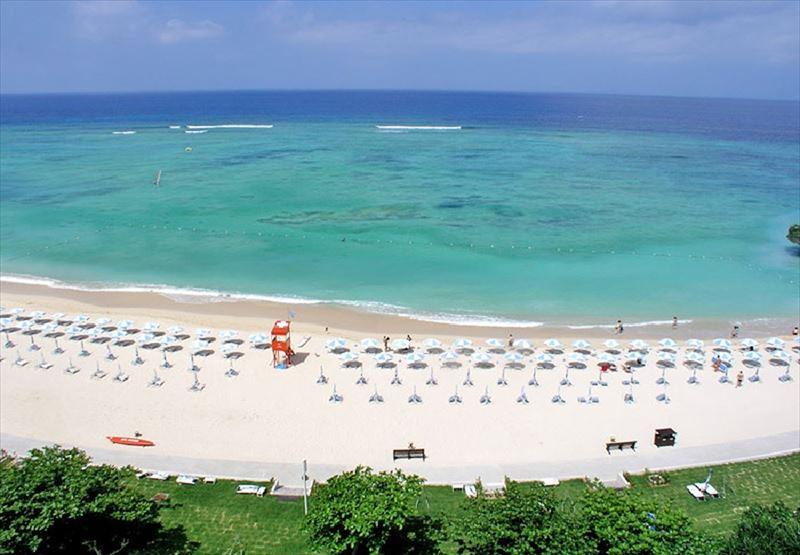 ホテル日航アリビラ プライベートビーチ