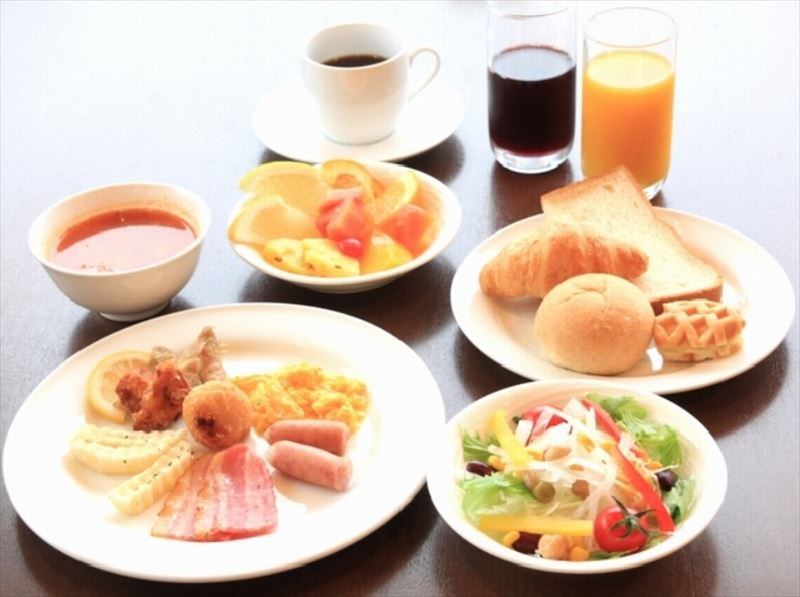 かねひで恩納マリンビューパレス朝食