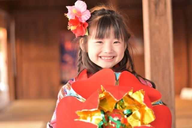 子供の沖縄旅行