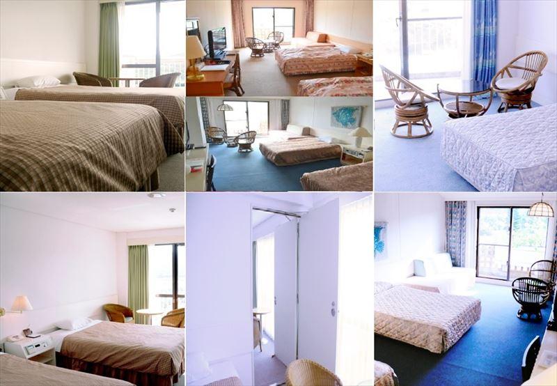 リゾートホテル 久米アイランド 客室