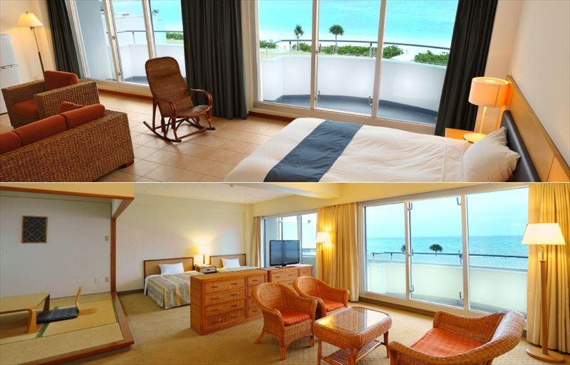 久米島イーフビーチホテル 客室