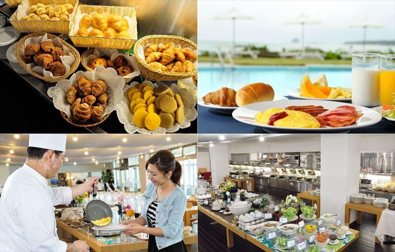 久米島イーフビーチホテル ブッフェ