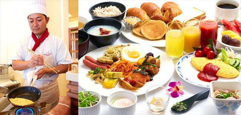 ホテルマハイナウェルネスリゾートオキナワ朝食