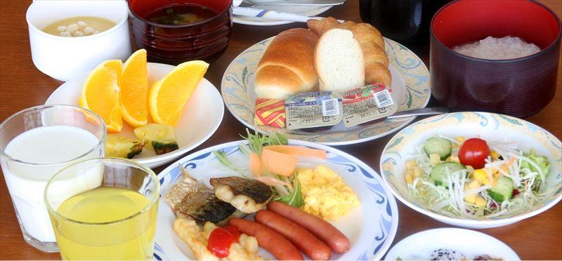 ホテルゆがふいんBISE朝食