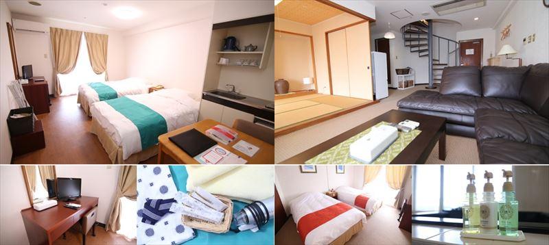 沖縄サンコーストホテル客室