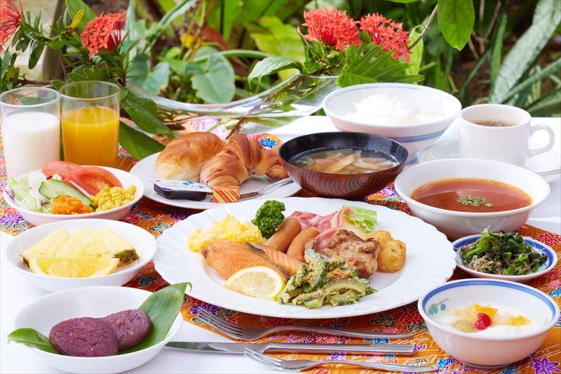 沖縄ホテル 朝食
