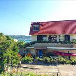 平安座島の海を見渡すカフェ「いっぷく屋」|海中道路で離島へ