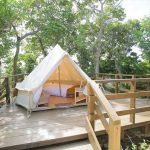森と海に包まれたナンマムイネイチャーリゾートでグランピング体験!