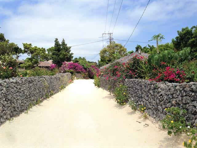 竹富島でレンタサイクル