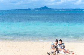 家族で沖縄ロケーションフォト♡ 自分じゃ撮れないクオリティに感動
