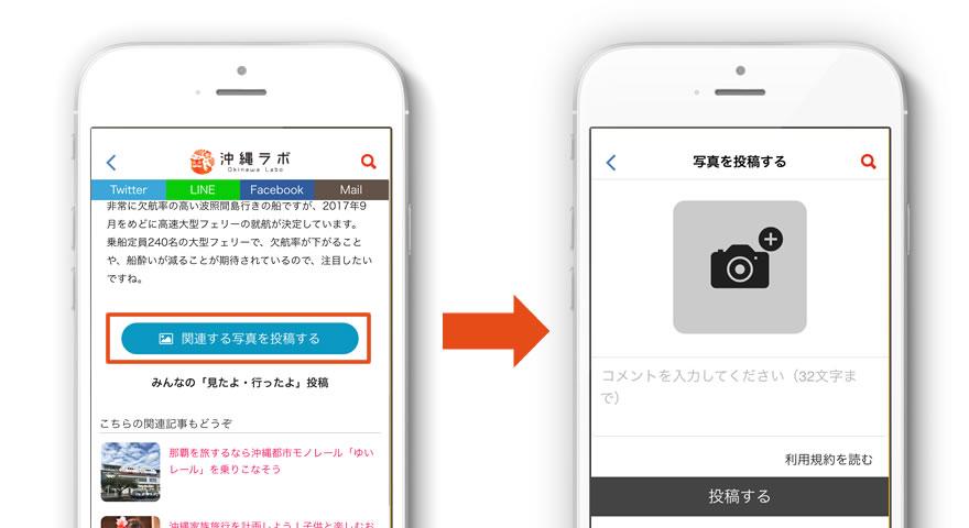 沖縄ラボフォトコンテスト応募方法