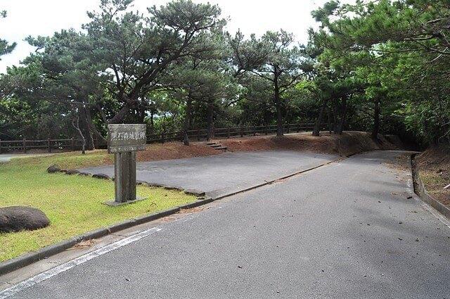黒石の森の駐車場