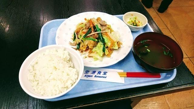 空港食堂 チャンプルー料理