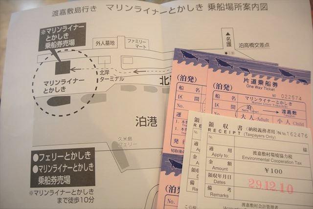 渡嘉敷島環境協力税