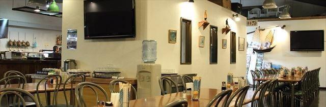 シーフレンド食堂内部
