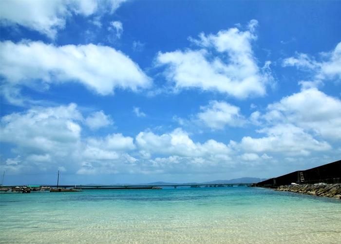 沖縄美ら海水族館と古宇利島・万座毛・ナゴパイナップルパークコース