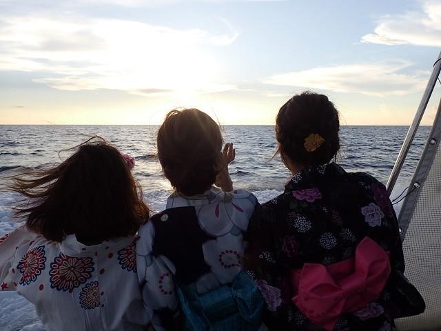 琉球海炎祭 クルーズ