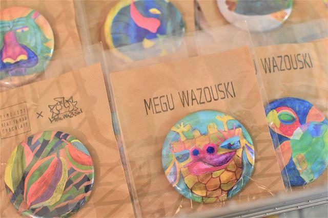 ハイセンス沖縄土産 「GOZZA」缶バッジ