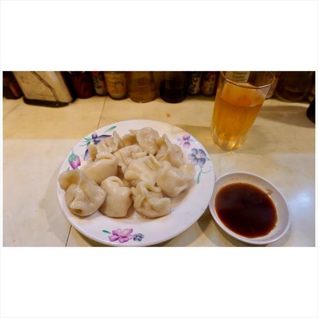 青島食堂 水餃子
