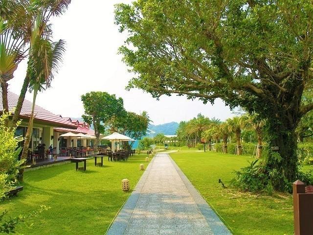 オクマプライベートビーチ&リゾート サーフサイドカフェ テラス席
