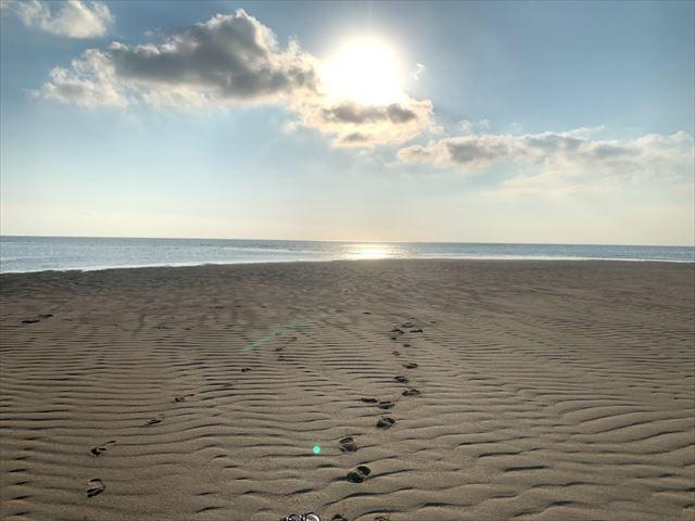 ユニの浜 散歩