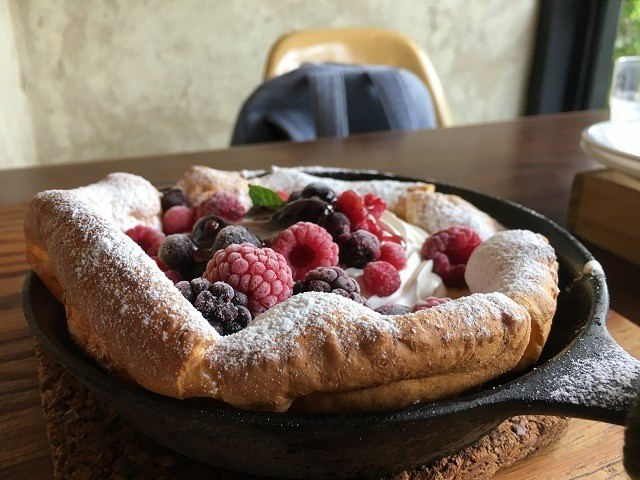 MOTHER COFFEE ベリーパンケーキ