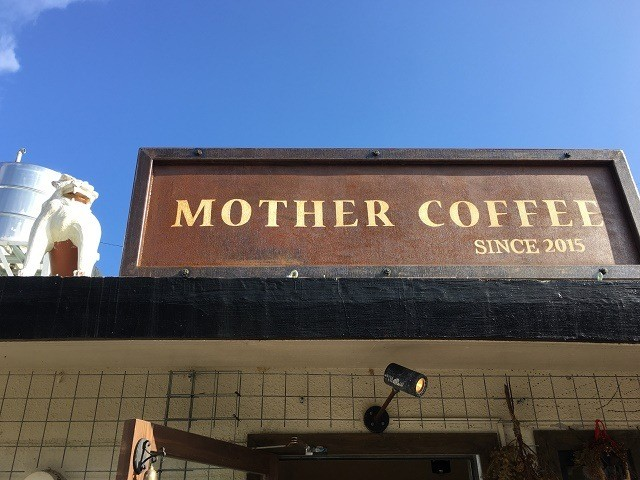 MOTHER COFFEE 看板