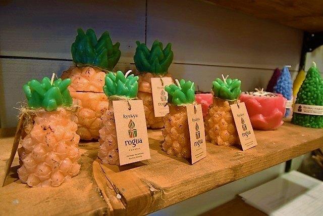 琉球ログア パイナップルキャンドル