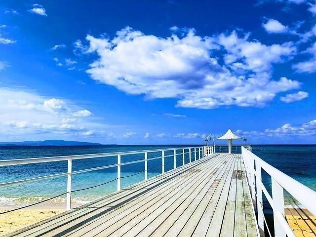 フサキリゾート エンジェルピア 青い海