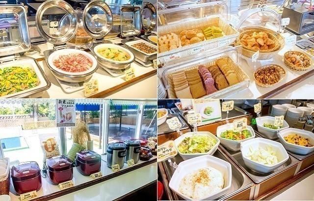 ホテルミヤヒラ 朝食ビュッフェ ラインナップ