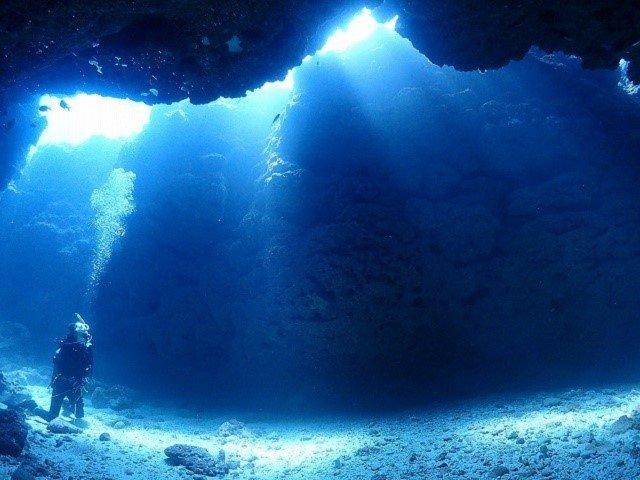 宮古島 地形ダイビング 中の島チャネル