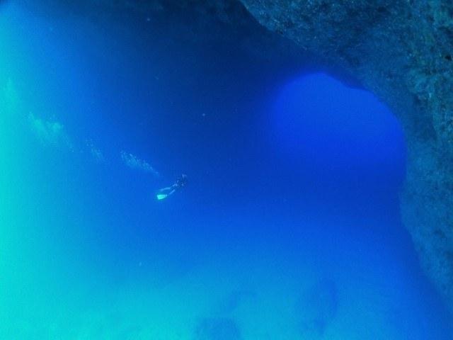 宮古島 地形ダイビング 通り池