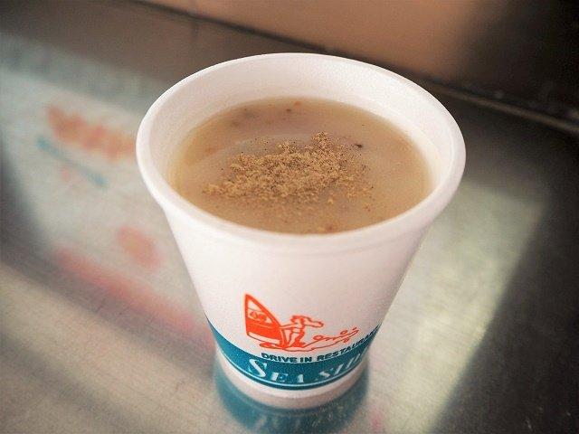 沖縄 シーサイドドライブイン スープ
