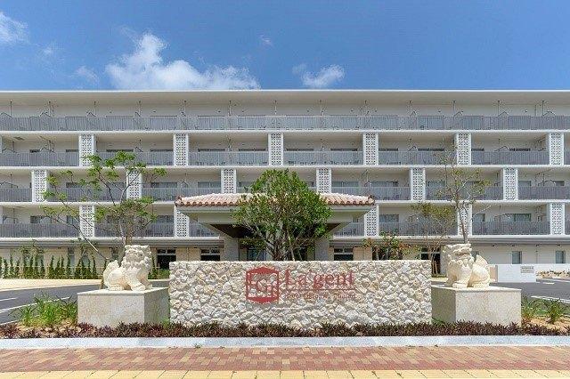 ラジェントホテル沖縄北谷 外観 正面