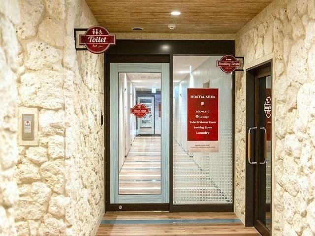 ラジェントホテル沖縄北谷 ホステル 自動ドア