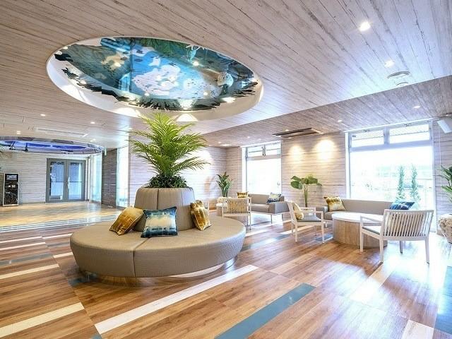 ラジェントホテル沖縄北谷 ロビー