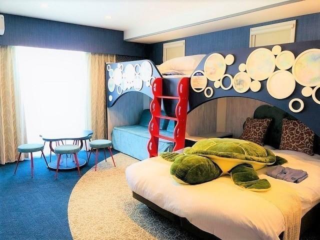 ラジェントホテル沖縄北谷 ファミリークイーンルーム