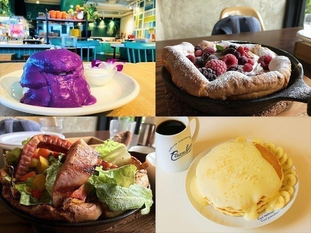沖縄 パンケーキ トップ画像