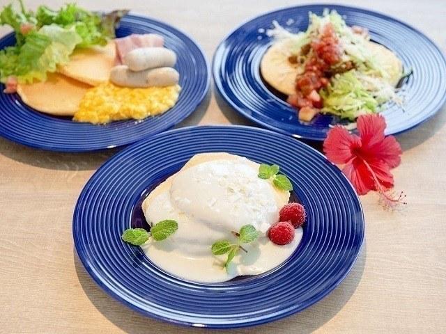 沖縄 パンケーキ ALLY'S 沖縄 塩パンケーキ