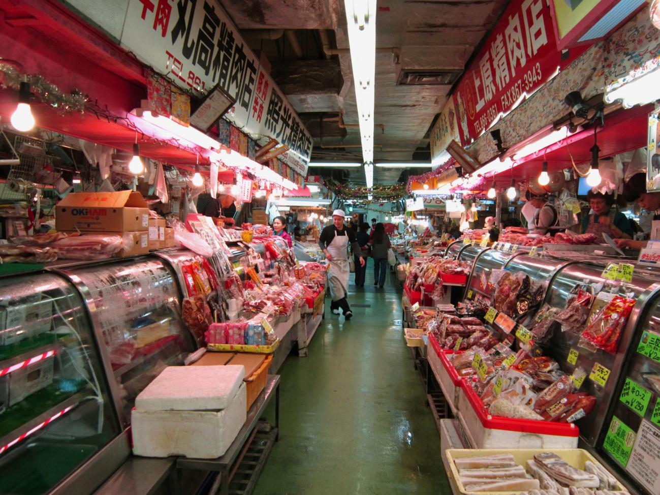 沖縄旅行 2019年 牧志公設市場
