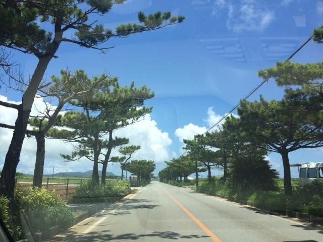 久米島 黒糖 店舗までの道のり