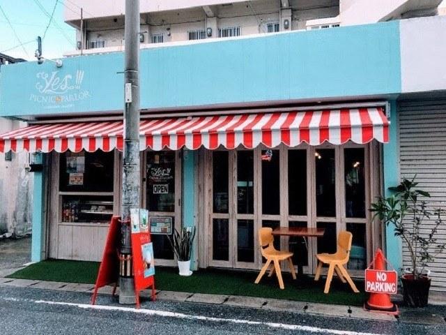 沖縄 アイスクリーム Yes!!!PICNIC PARLOR 店舗外観
