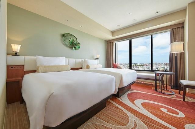 沖縄 高級ホテル ハイアットリージェンシー那覇沖縄 デラックス・ツイン 客室