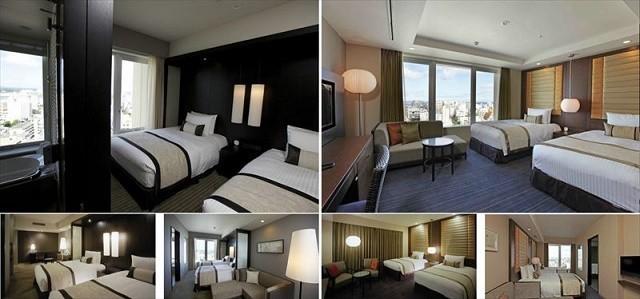 沖縄 高級ホテル リーガロイヤルグラン沖縄 客室 レパートリー