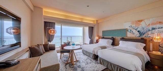 沖縄 高級ホテル ANAインターコンチネンタル石垣リゾート プレミアムルーム 客室