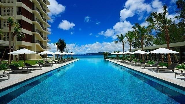 沖縄 高級ホテル ザ・テラスクラブアットブセナ 屋外プール