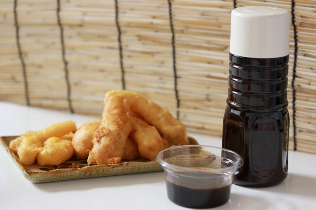 沖縄 調味料 うちなー天ぷら ウスターソースを添えて