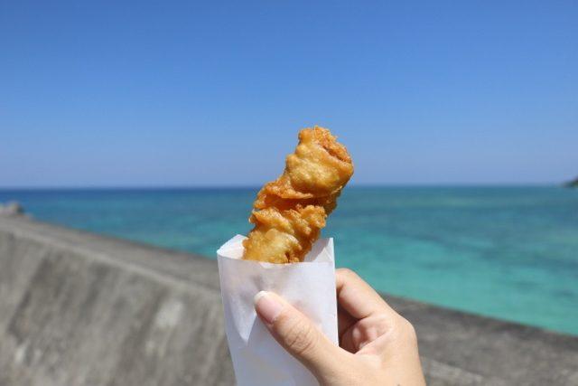 沖縄 調味料 うちなー天ぷら 海をバックにいただく