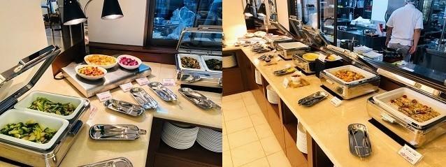 アラマハイナ コンドホテル 朝食 ラインナップ
